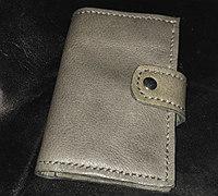 自制一款带钥匙包的短款钱夹 方便实用