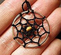 捕梦网制作怎样缠绳子 捕梦网网绳编织方法