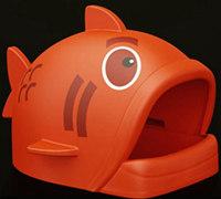 鱼吃猫 霸气的鱼形猫窝