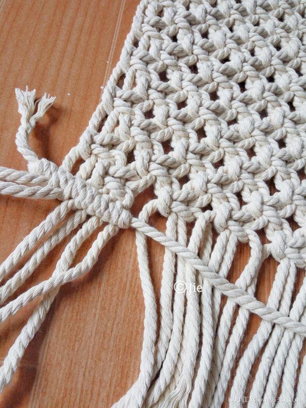自制地毯做法 北欧风地毯手工编织教程