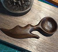 恶魔之心木勺雕刻方法
