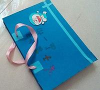 简单礼品包diy教程 实用纸袋制作