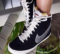 给运动鞋增加时尚元素 米珠改造运动鞋教程