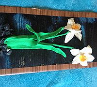 粘土水仙花制作教程