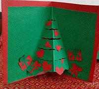 自制圣诞节贺卡 手工圣诞节贺卡做法