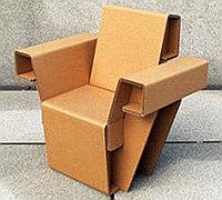 创意家具设计 如折纸一般的纸板沙发