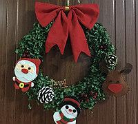 自制圣诞花环 圣诞花环的制作方法