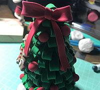 用超轻粘土做圣诞树 粘土圣诞树制作教程