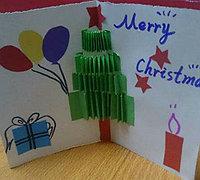 儿童圣诞节贺卡制作 圣诞节贺卡制作方法