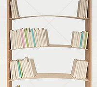 创意书架设计 带弧度的书架