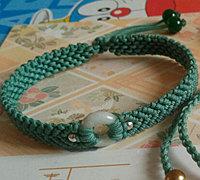 小清新中国结手链编织方法