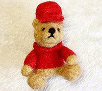 穿衣戴帽的羊毛毡小熊教程