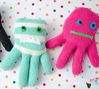 旧手套改造可爱的小章鱼教程