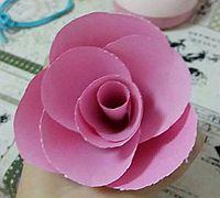 超级简单的纸花制作方法