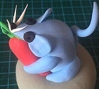 简单又可爱的小老鼠粘土制作教程