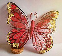 美丽的衍纸小蝴蝶制作教程