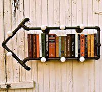 水管书架 实用又创意