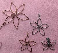 非常简单的绕线花朵制作方法