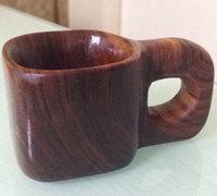 自制红木杯 木杯子制作过程