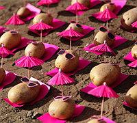 时髦的小土豆 有趣的土豆创意