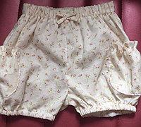 宝宝灯笼短裤的裁剪方法
