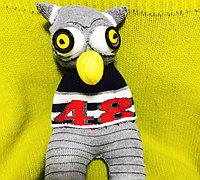 用旧袜子改造一只可爱的猫头鹰玩偶