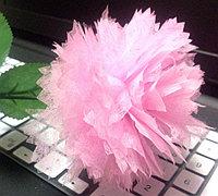 棉纸制作康乃馨纸花的方法
