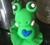 粘土制作超萌小青蛙的教程