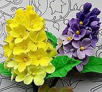 粘土制作漂亮的小花串