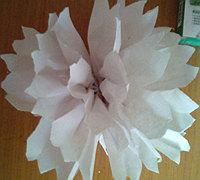 最简单手工纸花球制作方法