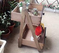 旧家具的抽屉diy实用花架