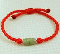 简单红绳手链编法教程