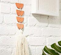 用软陶制作的一个创意小挂饰