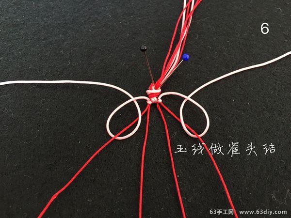 红绳十式图解_三生三世十里桃花 红绳手链编法教程_63手工网
