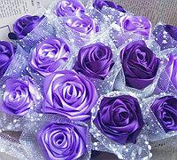 丝带玫瑰花 让玫瑰永远绽放