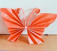 手工折纸蝴蝶 纸蝴蝶简单折法