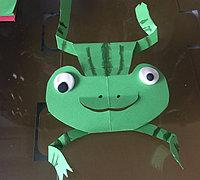 即简单又有趣的小青蛙折纸手工