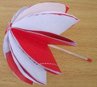 可爱的迷你小雨伞折纸教程