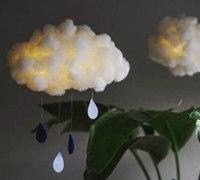 云朵灯手工制作 帮你营造浪漫气氛