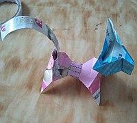 简单的折纸小狗折法教程