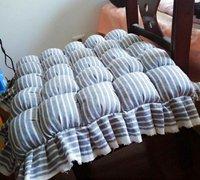 自制泡芙坐垫的手工教程