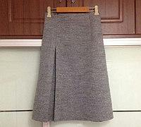 怎么做裙子 呢绒裙子裁剪图