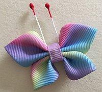 丝带蝴蝶的做法 怎么用丝带做蝴蝶