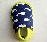 给宝宝做一双防滑软底鞋