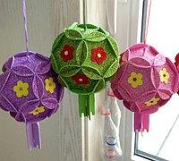 花球的做法 春节花球制作教程