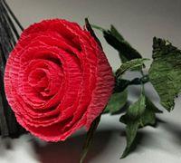 美丽逼真的情人节玫瑰制作教程