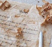教你简单的纸的做旧处理