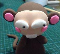 粘土十二生肖之生肖猴