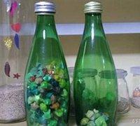 创意玻璃瓶摆件 玻璃瓶改造艺术品
