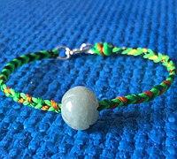 简单之美-四股辫手绳的编法
